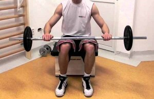 Barbell-Seated-Calf-Raise