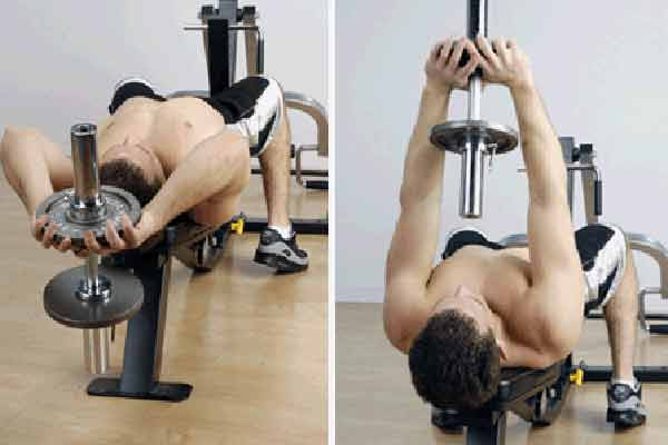 Bent-Arm Dumbbell Pullover – How to Perform
