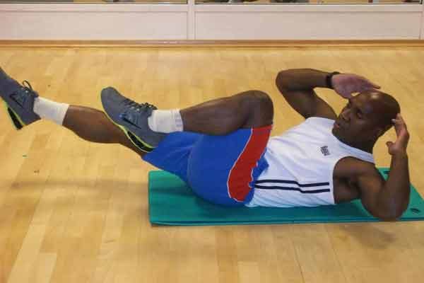 Reverse Bicycle Crunch An Effective Abdominal Exercise