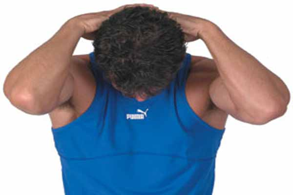 Chin To Chest Stretch Exercise For Neck Muscles Improvement