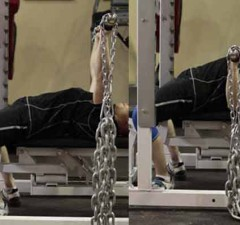 workout with chains