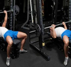 bench press form