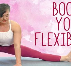 Flexibility In a Yoga Class